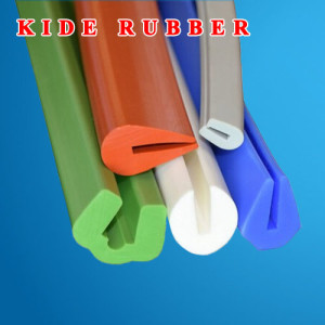Silicone Solid Rubber Extrusion