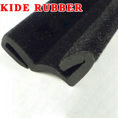 Flocked Rubber Channel